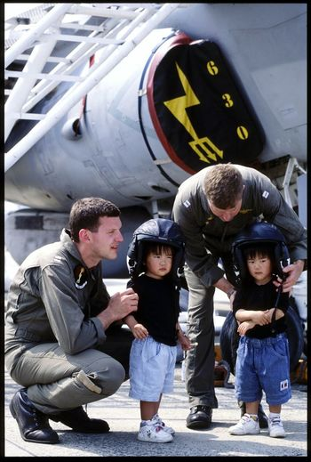 Airplane Communication Day Military Outdoors People Air Vehicle Military Uniform Air Force Togetherness Snapshot Japan Photography Iwakuni Friendship Day Boys Friendship EyeEmNewHere