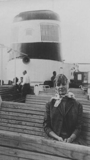 Myaunt Americandream The Tourist Inlove Blondie 60s Fashion 60s Boating Travelling History History Through The Lens  Cruise Ship