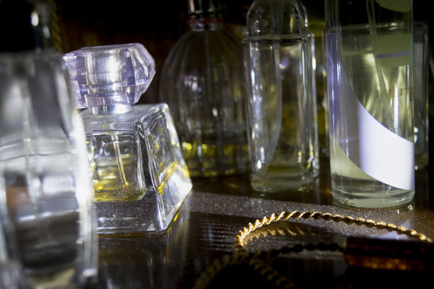 perfume bottles and lights Light Appeal Bottle Charm Glass Litghts Perfume Reflections