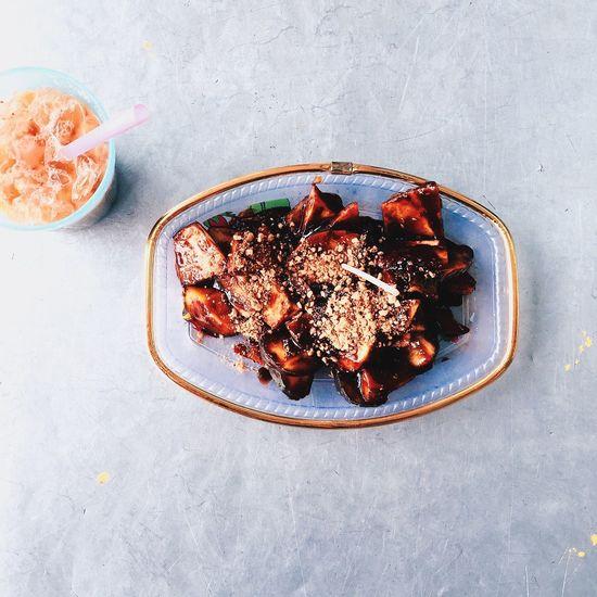 Rojak Buah (Fruits Salad) VSCO Vscocam Vscofood Vscogrid Vscophile Vscogood Food Foodgasm Foodporn Igers