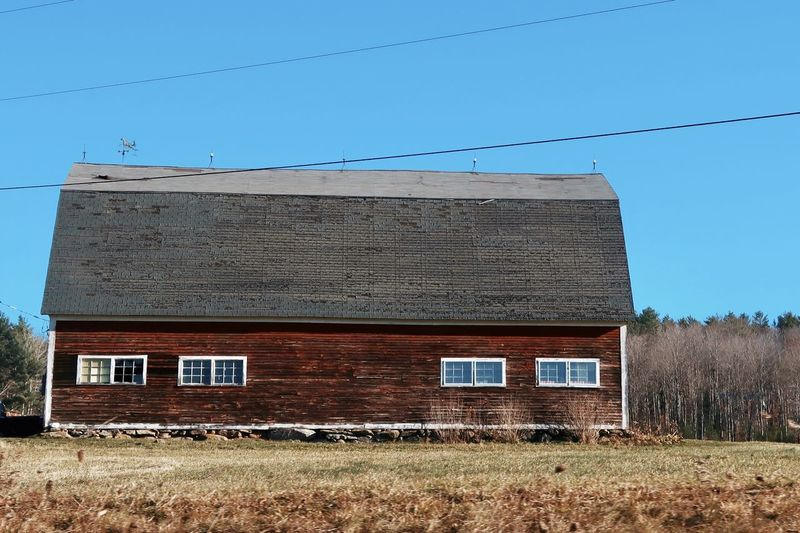 Old barn Canon