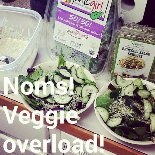 Lunch! Veganranch Eatyourveggies