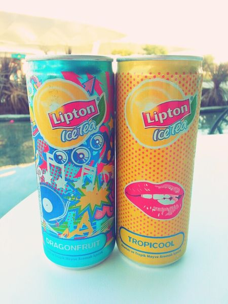my new obsession:drink cans! Drinks Lipton Ice Tea Enjoying Life Love