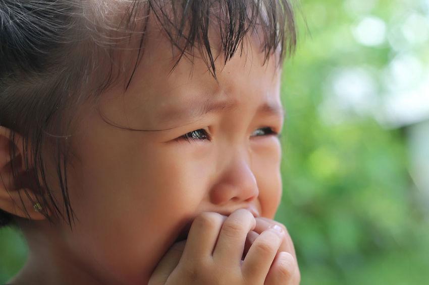 Innocent Cry Child Emotions Headshot Innocence Innocent