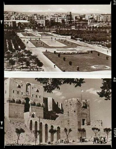 Aleppo Syria  Proud To Be Syrian Castle