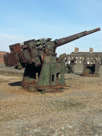 War Weapon Military History Army Gun Machinery Cannon No People Outdoors Day Sky