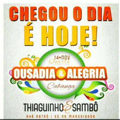 Ousadia &alegria @thbarbosa ;))