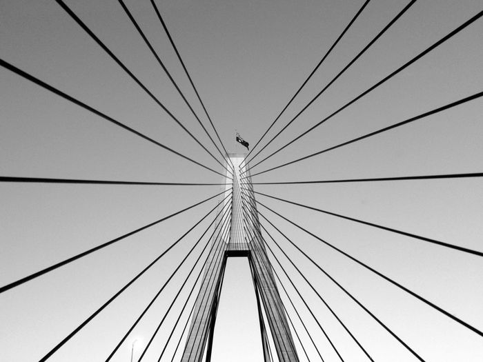 Anzac Bridge again... Bridge Sydney Australia IPhoneography