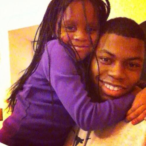 Chillin With My Lil Cousin :)