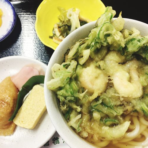 Food Porn Lunch Udon Noodles 観光客多いです