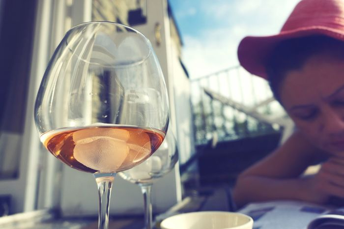 Wine Moments One Person Food And Drink Young Adult Alcohol Drink Refreshment Adults Only Day Close-up Mood Captures EyeEm Masterclass Check This Out Turkishfollowers Lifestyles Mood EyeEm Best Shots EyeEm Gallery Blush Rosé Rose Vine EyeEm Selects Let's Go. Together. Love Yourself