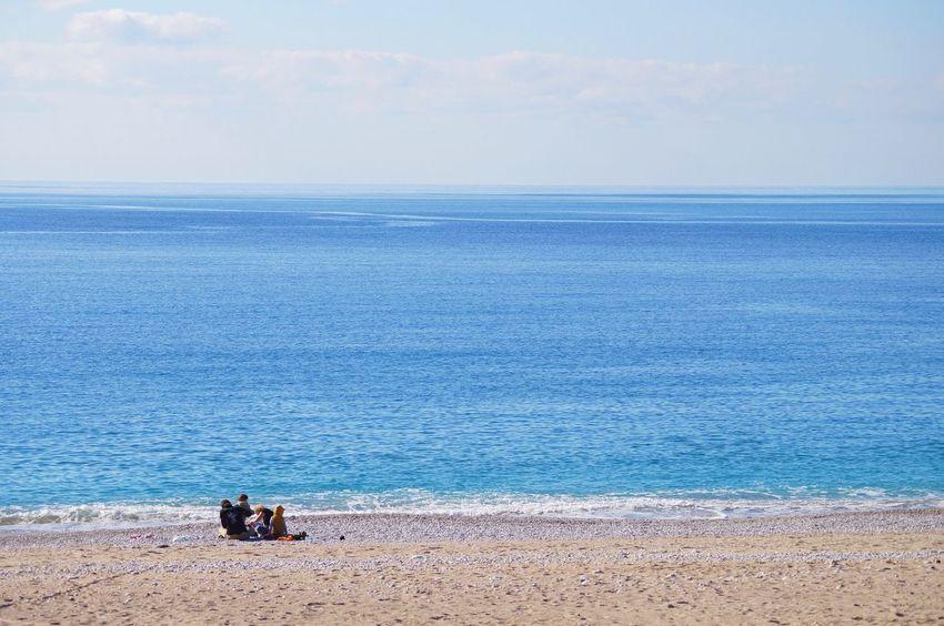 love Sea Horizon Over Water Water Beach Nature Scenics Tranquil Scene