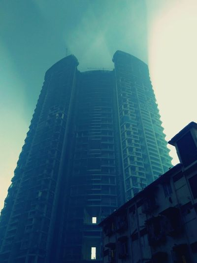 Smoke in the city Smoke City Mumbai Morning
