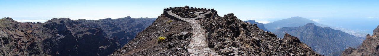Roque de los muchachos Beauty In Nature Canary Islands Island La Palma Landscape Mountain Mountain Peak Mountain Range Nature Outdoors Panoramic View Roque De Los Muchachos Scenics SPAIN Spectacular View