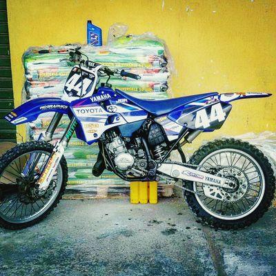 Finished Yamaha Yz125