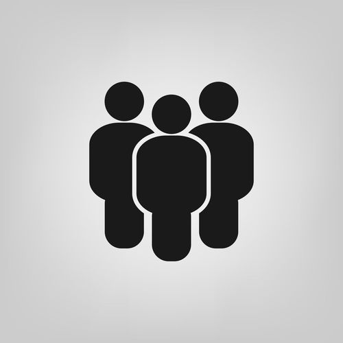 People flat style icon. Team work symbol. Group of humans sign For your web site design, logo, app, UI. illustration Team No Talking Avatar Business Employee Icon Leader Sign Social Staff Teamwork Work Businessman Communication Corporate Group Illustration Leadership Manager Member Organization Partnership People People Icon person Website
