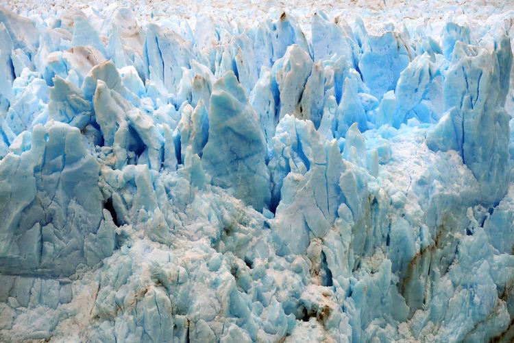 Full frame shot icebergs