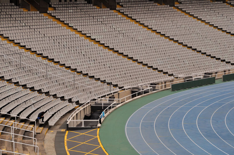 Row of stadium