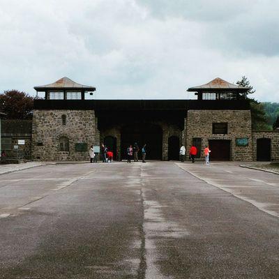 Mauthausen Austria Concentrationcamp Fuji fujifilm FujiXM1 StreetPhotography