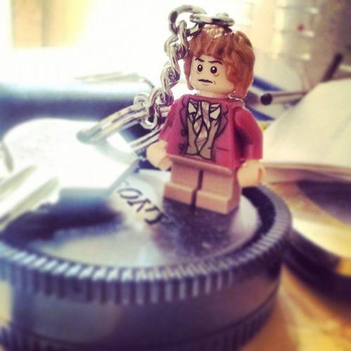 Bilbo Baggins Keychain LEGO theHobbit cool small keys gadget