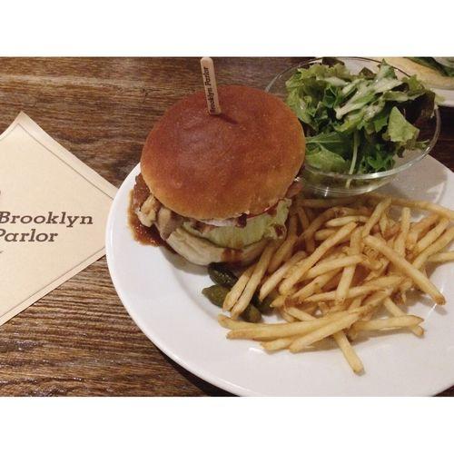 EyeEm再スタート♡よろしくお願いします\( ˆoˆ )/♡Brooklynparlor🍔大好き! ランチ ハンバーガー Brooklynparlor ブルックリンパーラー 心斎橋 大阪カフェ カフェ