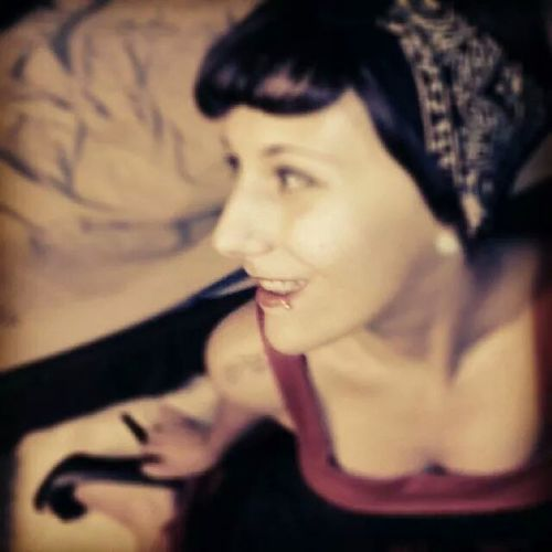 very old but beautiful. Color Portrait Pinup Smile Taking Pictures
