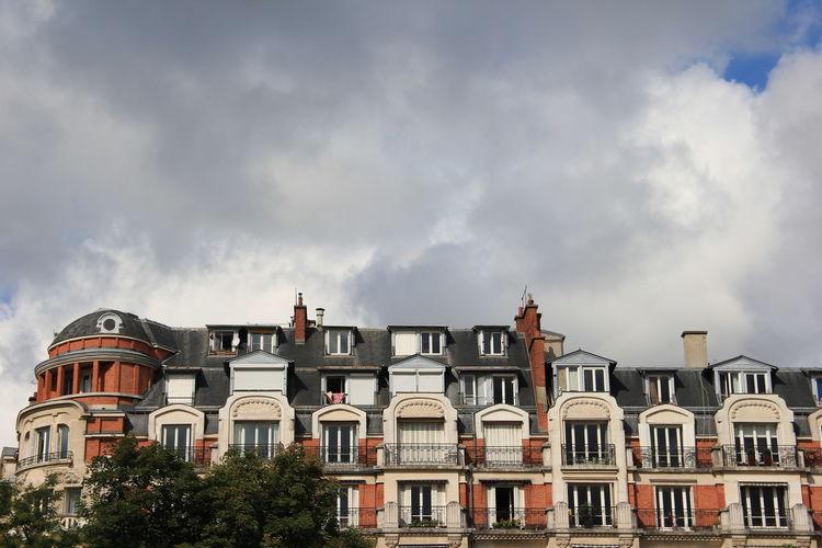 Parisien houses