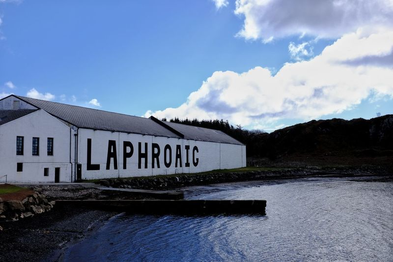 Laphroaig Distillery Whisky Distillery Whisky Whiskey Whiskey Distillery Scotland Islay Sea Sea And Sky Seaside Fujifilm X100T Nofilter