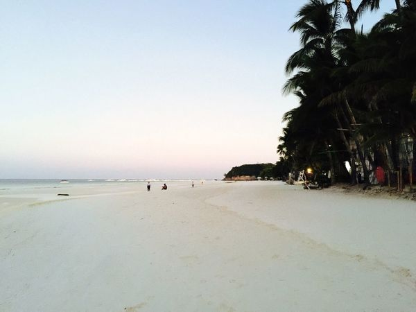 Boracay Philippines 80 degrees sunrise warm water and sugary white sand IPhoneography Swimming Landscape_Collection Sunrise Nature Negative Space Just Around The Corner Endlessness The Adventure Handbook The Great Outdoors - 2015 EyeEm Awards