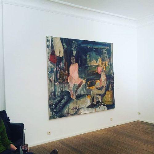 Geradwaskievitz 2016 Painting Berlincontemporaryart Berlinartscene