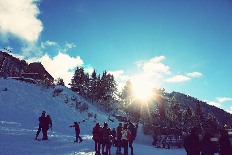 Brezovica sunlife Snowboarding Warm Clothing Men Sport Women Winter Ski Holiday Snow Ice Rink Crowd Skiing Ski Lift Ski Track Powder Snow Deep Snow Winter Sport