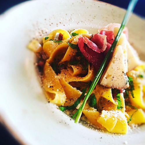 Pappardelle Parma e gorgonzola Food Pasta