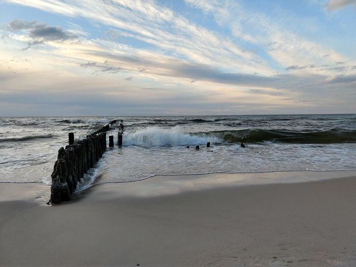 The wave 🌊 Low Tide Water Sea Beach Sand Wave Sunset Sky Horizon Over Water Landscape Tide Coast Coastline