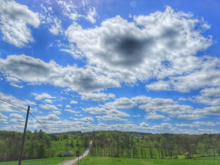 Cloud - Sky Sky Nature Day Beauty In Nature No People Outdoors Grass Scenics Sport Soccer Field