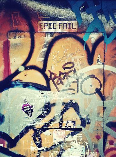 Epic Fail Street Art Berlin Streetart Berliner Ansichten