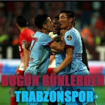 Bu Gun Gunlerden Trabzonspor Avrupanınfatihisaldırbordo mavim