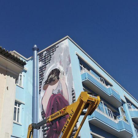 #streetart by Jana & JS ~> © Carla de Sousa EyeEm Selects Architecture Building Exterior