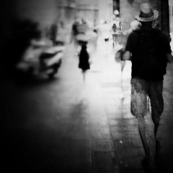El tio del sombrero Black & White Mob Fiction Movilgrafias Monochrome