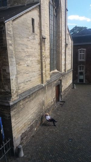 Architecture Building Exterior Built Structure Day Minderbroerskerk Outdoors Sitting Outdoor The Way Forward