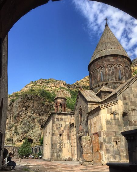 Geghard Monastery Taking Photos Capture The Moment IPhoneography Check This Out Hello World Enjoying Life The Human Condition Hanging Out Armenia