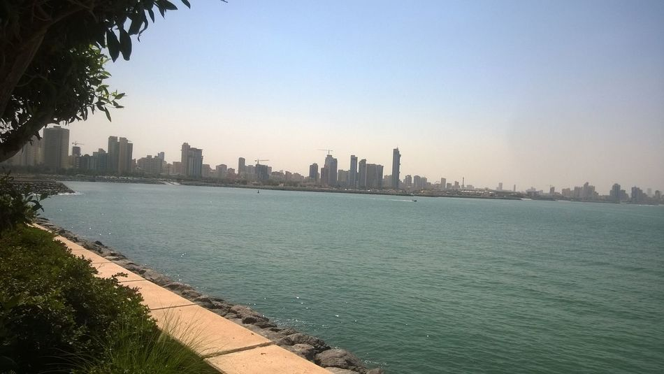 City Clear Sky Kuwait City Sea First Eyeem Photo