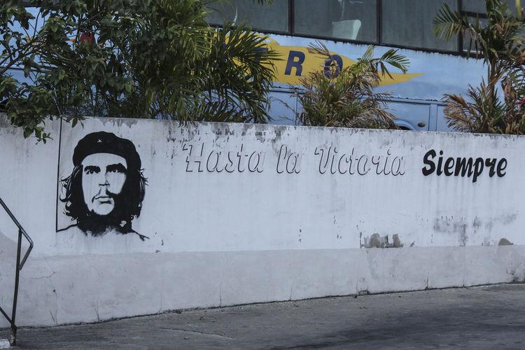 Built Structure Che Guevara Cuba CUBA! Graffiti No People Traveling Wall
