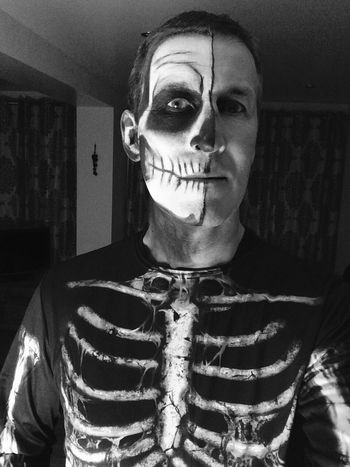 Skeleton Face Paint Halloween