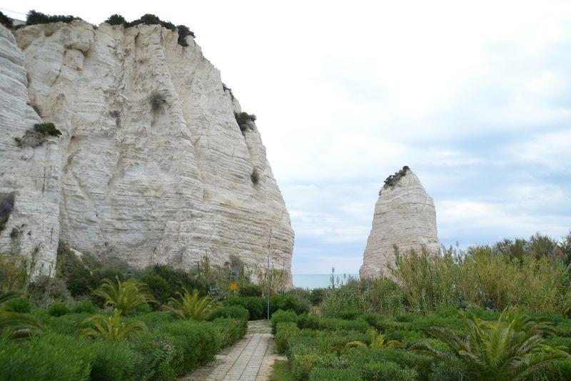 Italy❤️ Gargano Vieste Puglia Landscape Nature Rock - Object Sea Beach Vieste Scenics