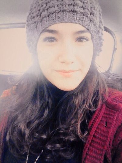 ⛄️⛄️❄️❄️ Pretty♡ Self Portrait Hello World Selfie ✌ Winter Holiday Model Beauty Ankara??