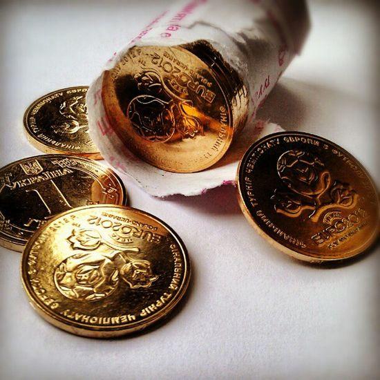 гривна Euro Coin монета