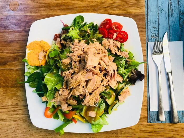 Salad Food Photography Healthy Eating Food Wellbeing Table Food And Drink Freshness Vegetable Serving Size Ready-to-eat Directly Above Meal