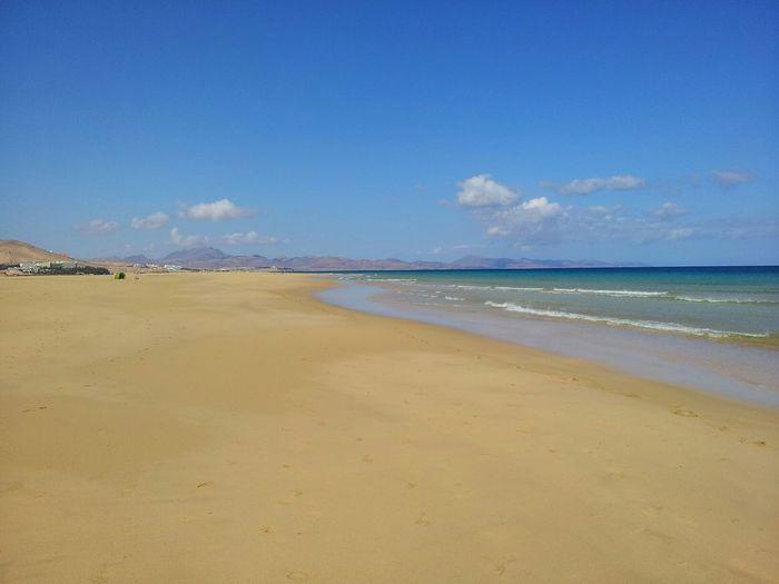 Playas de Jandía (Fuerteventura, Spain) Fuerteventura Beach Sea Landscape
