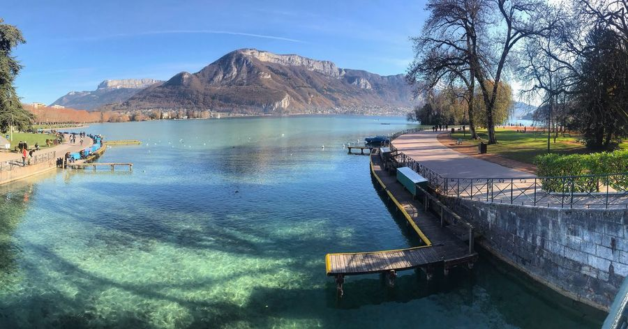 Lake Annecy, France 🇫🇷 Water Mountain Nature Day Outdoors Beauty In Nature Sky Scenics Tranquil Scene Tranquility Sunlight Waterfront Lake Tree No People France Annecy Lake Annecy, France Annecylake Annecy Beautiful Wunderlust Freshness Nature Beauty In Nature
