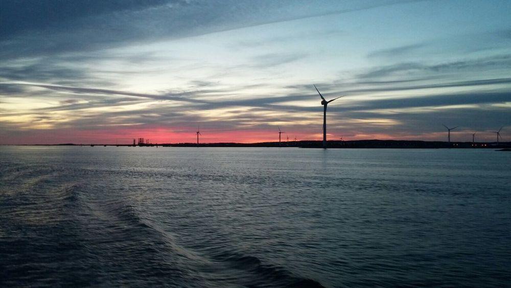 Gothenburg Port Evening Mid Summer